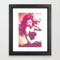Pepper Dance Framed Art Print