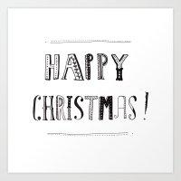 Happy Christmas! #2 Art Print