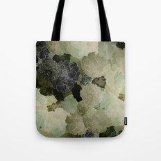FLORAL OLIVE Tote Bag