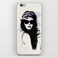 Infatuation - Digital Fashion Illustration iPhone & iPod Skin
