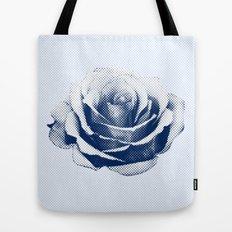 HALFTONE ROSE Tote Bag