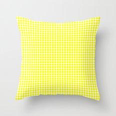 BIG YELLOW DOT Throw Pillow