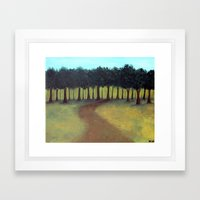 The Road Home Framed Art Print