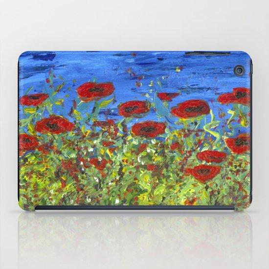 Poppy Field iPad Case
