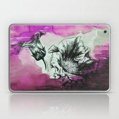 Flowers In Magenta Fog Laptop & iPad Skin