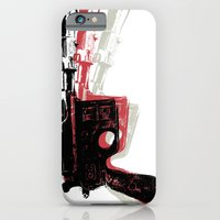 iPhone & iPod Case featuring Blaster (Right) by Department M