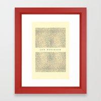 joy division Framed Art Print