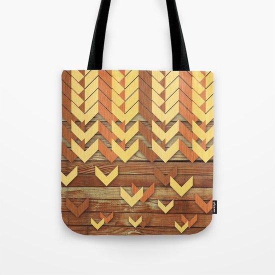 ZigZag Woody Tote Bag