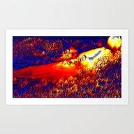 Unknown Terrain Art Print