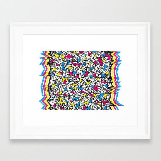 sonat mirabile. Framed Art Print