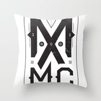 MXMC Throw Pillow