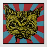 PsyChat Canvas Print