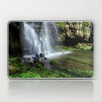Waterfall at Swallet Falls Laptop & iPad Skin