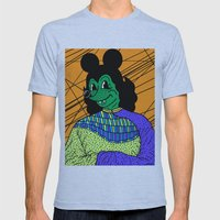 THE GREEN LADY. Mens Fitted Tee Athletic Blue SMALL