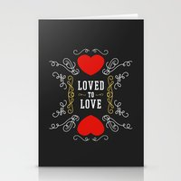 Loved to Love Stationery Cards