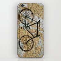 Bike Ride in New York City iPhone & iPod Skin