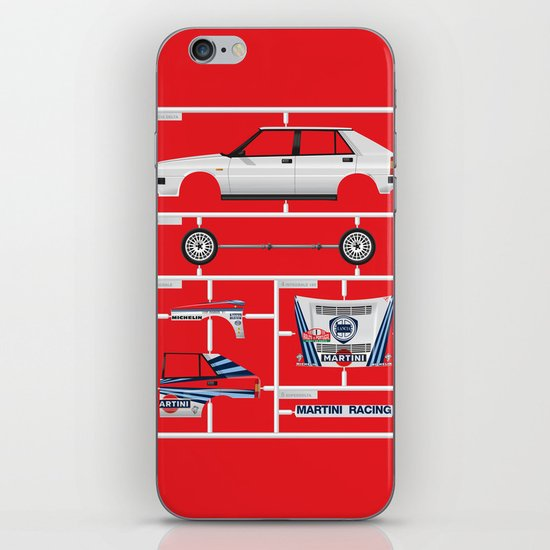 Lancia Delta History Model Kit in the WRC iPhone & iPod Skin