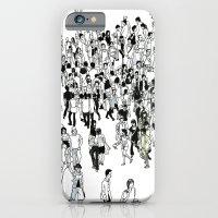 Shibuya Street Crossing Crowd iPhone 6 Slim Case