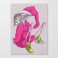 flamingoia Canvas Print