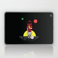 Moon ice cream Laptop & iPad Skin