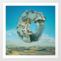 Art Prints featuring REBALANCE (02.08.16) by beeple