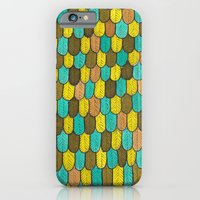 iPhone & iPod Case featuring Feathers Monster Skin by Tyson Bodnarchuk