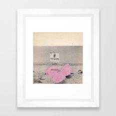 pink2 Framed Art Print