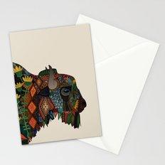 bison bone beige Stationery Cards