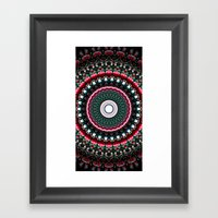 A Child At Christmas Framed Art Print