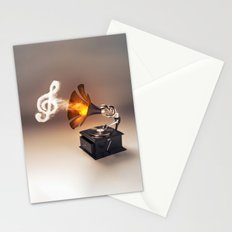 let the music play (just keep the groove) Stationery Cards