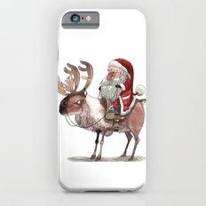 Père Noël Énervé / A… iPhone 6 Slim Case
