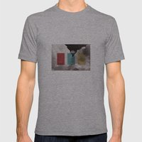 Simplicity Is Freedom Mens Fitted Tee Athletic Grey SMALL