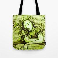 Romantic Ophelia Tote Bag