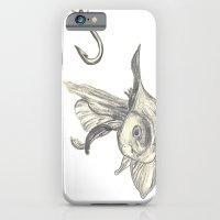 Fishing In The Fish Tank iPhone 6 Slim Case