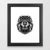 Signs of the Zodiac - Leo Framed Art Print