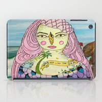 Love Deep Like The Sea iPad Case