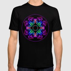Smoke exotica Mens Fitted Tee Black SMALL