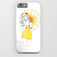 iPhone & iPod Case featuring Pin-Up  by Susana Carvalhinhos