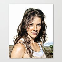 Kate From LOST (Evangeli… Canvas Print
