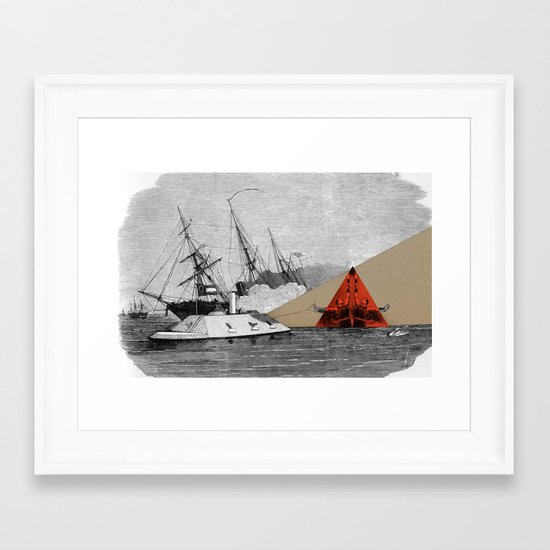 The CSS Sensational Framed Art Print