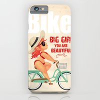 bike iPhone & iPod Cases featuring BIKE by melivillosa
