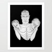 Weight (v2) Art Print