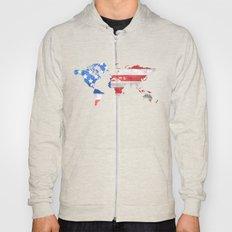America flag 4 Hoody