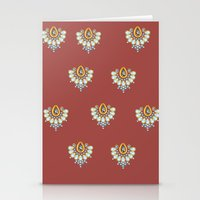 Hindi Pattern Stationery Cards