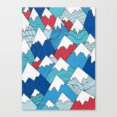 Mountain Pattern 2.0  Canvas Print