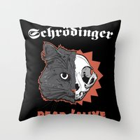 Schrödinger - DEAD/ALIVE World Tour Throw Pillow