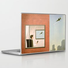 War is Closer Than You Think Laptop & iPad Skin