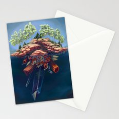 Subterranean Structures Stationery Cards