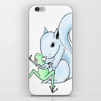 The Frog & The Squirrel: A Birthday Squeeze iPhone & iPod Skin