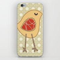 Chirpy Bird iPhone & iPod Skin